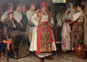 'Bride' by Fedir Krychevskyi (1910 AD).