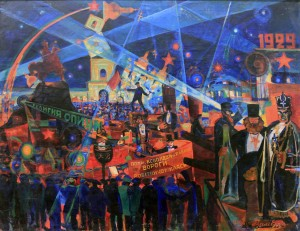 'Anti-religious Carnival' by Vasyl Chaliienko.