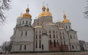 Dormition Cathedral in Kiev-Pechersk Historic-Cultural Preserve.