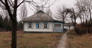 House from the Donetsk Region in the twentieth-century (in Pirogov - the Museum of Folk Architecture and Life of Ukraine).