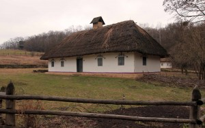 Peasant home from Puzhajkove village, from the Potlillya Region.