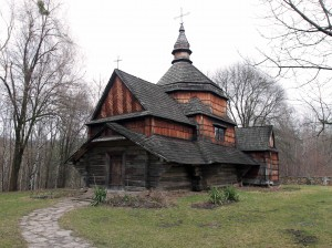 Zelene village church (built in 1817 AD), from the Ternopil Region.