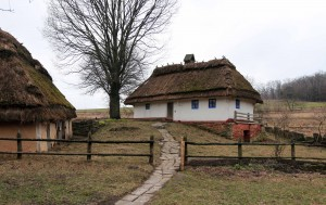 The farmstead of Garyachyntsi village.