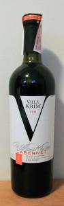 Ukrainian dry red wine made from Cabernet Sauvignon grapes.