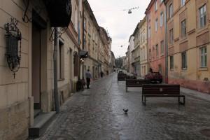 Street in Lviv.