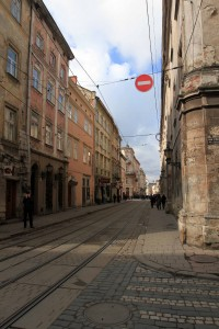 Another street in Lviv.