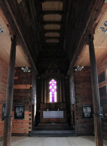 Inside another historic church from the Lviv Region.