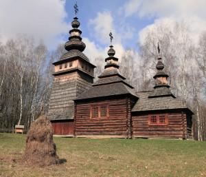Church from the Lemko Ethnic Region.