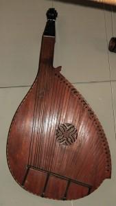 Bandura (a traditional Ukrainian stringed instrument).