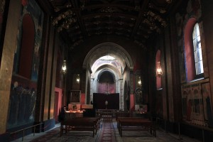 Inside the Armenian Cathedral in Lviv.