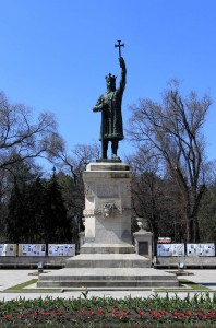Stephen the Great Monument (Stephen the Great was Prince of the Principality of Moldavia between 1457 and 1504 AD).