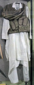 """Afghanistan combat """"uniform"""" from the Soviet War in Afghanistan."""