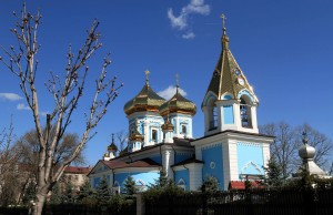 Ciuflea Monastery in Chisinau.
