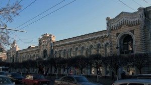 Chisinau Town Hall.
