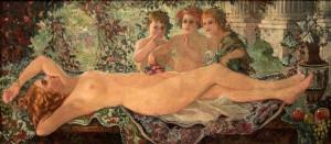 """""""Primavara"""" by Eugenia Malesevschi (1916 AD)."""