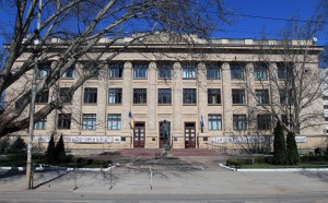 The National Library of Moldova.