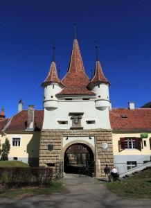 Catherine's Gate in Brasov.
