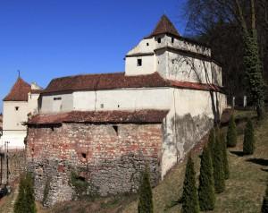 Weaver's Bastion in Brasov.