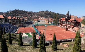 Olimpia Tenis Club in Brasov, next to the Weaver's Bastion.
