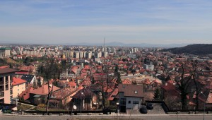 View from the Brasov Citadel, looking east.