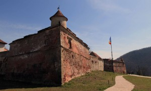 Another view of the Brasov Citadel.