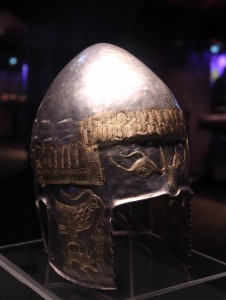 Helmet dating from the 4th- to 3rd-centuries BC, found at the Peretu burial mound.