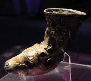 Getic rhyton from the 4th- to 3rd-centuries BC.