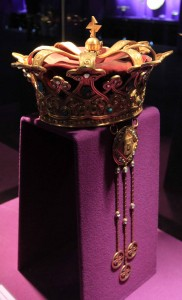 The crown worn by Queen Mary (Princess Marie of Edinburgh, more commonly known as Marie of Romania) at the coronation from Alba Iulia on October 15, 1922.