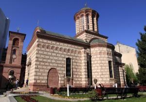 Curtea Veche Church, built in 1559 AD.
