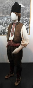 Man's dress from the Zajecar region in northeastern Serbia (19th-century AD).