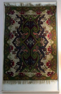 Kilim rug, manufactured in the town of Pirot.