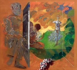 'Annunciation' by Mladen Srbinovic (1972 AD).