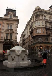 Fountain at Kneza Mihaila.