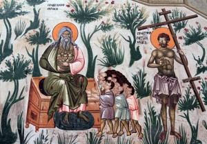 Detail of 'The Last Judgement', from the Gracanica Monastery (1318-1321 AD).