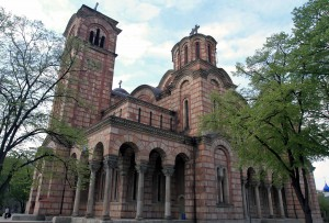 "New Serbian-Orthodox Church of St. Mark (also known as ""St. Mark's Church"")"
