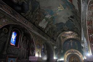 Inside St. Petka's Chapel.