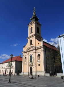 Church of Ascension of the Holy Virgin Mary, in Zemun.