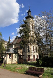 Church of St. Archangel Michael, in Zemun.