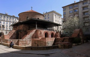 Rotunda of St. George the Victorious, which is considered to be the oldest preserved building in Sofia.