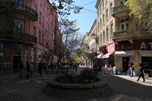 Pirotska Street in Sofia.