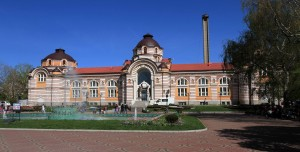 Central Mineral Baths in Sofia.
