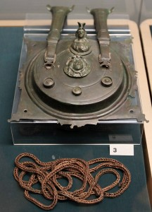 Lock and chain from a toilet casket (2nd-century AD).