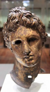 Head from a statue of Apollo (2nd-3rd centuries AD).