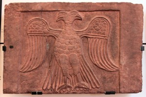 Relief of a double-headed eagle in heraldic position (11th-12th centuries AD).