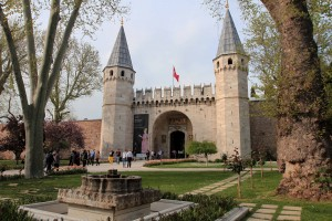 The Middle Gate to Topkapi Palace.