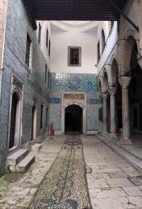 Forecourt next to the Dormitory of Black Eunuchs, inside the Harem.