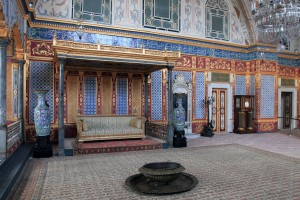 The Imperial Hall inside the Harem.