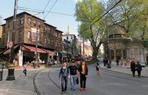 Alemdar Cadesi Street in Istanbul.