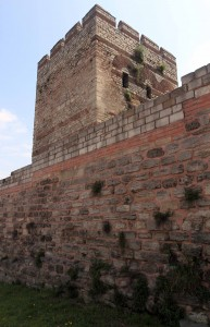 A tower on the Theodosian Walls.