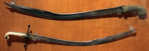 Turkish swords.